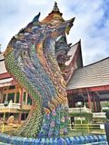 Thailändischer Naga Lizenzfreie Stockfotografie