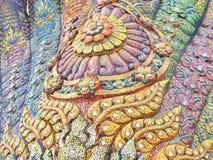 Thailändischer Naga stockbild