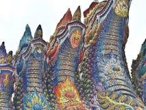 Thailändischer Naga Lizenzfreie Stockfotos