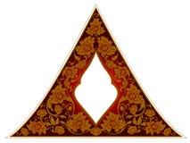 Thailändischer Ornamentrahmen Stockfoto