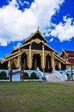 Thailändischer Palasttempel in Birma-Art Stockbild