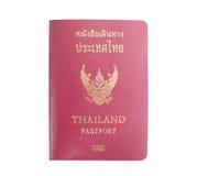 Thailändischer Pass Stockfoto