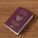 Thailändischer Pass Lizenzfreie Stockfotos