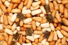 Thailändischer Reiscracker Stockfotos
