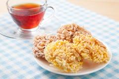 Thailändischer Reiscracker Stockbild