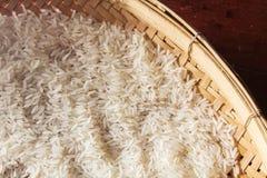 Thailändischer roher Reis, Stillleben. Lizenzfreie Stockbilder
