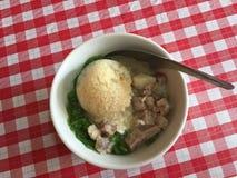 Thailändischer süßer Nachtisch Lod Chong Lizenzfreies Stockbild