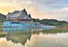 Thailändischer Sala Stockfoto