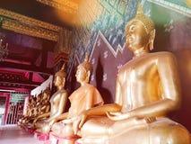 Thailändischer Tempel auf Thailand Lizenzfreie Stockfotografie