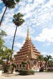 Thailändischer Tempel in Khon Kaen, Thailand Stockbild