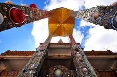 Thailändischer Tempel, Phasornkaew-Tempel in Thailand Stockbilder