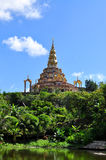 Thailändischer Tempel, Phasornkaew-Tempel in Thailand stockfotos