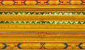 Thailändischer Tempel, ummauern thailändisches Lizenzfreie Stockbilder