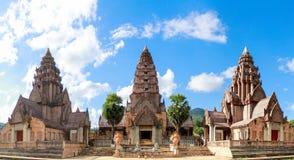 Thailändischer Tempelhintergrund Stockfotos