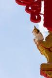 Thailändischer Tempelpfosten Stockbilder