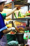 Thailändischer Verkäufer Lizenzfreies Stockfoto