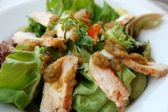 Thailändischer würziger Salat Lizenzfreie Stockfotos