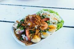 Thailändischer Wing Bean Salad Stockfotografie