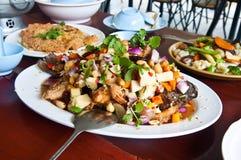 Thailändischer zurechtgemachter Salat. Stockfotos