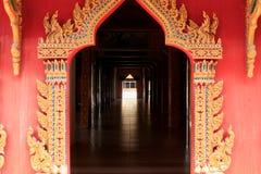 Thailändisches Arttormuster lizenzfreie stockfotografie