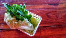 Thailändisches Gemüse Lizenzfreie Stockfotos