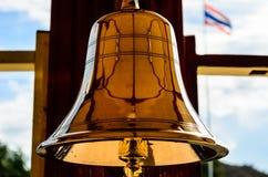 Thailändisches Gold Bell Stockbilder