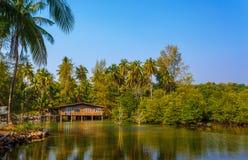 Thailändisches Haus Stockfotos