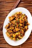 Thailändisches Huhn mit Acajoubaum Stockfoto