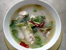 Thailändisches Huhn-tomyum Stockfoto