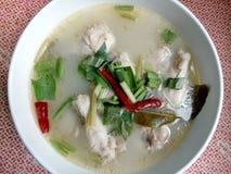 Thailändisches Huhn-tomyum Stockfotos