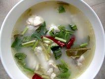 Thailändisches Huhn-tomyum Lizenzfreies Stockfoto