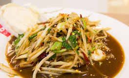 Thailändisches Lebensmittel lizenzfreies stockfoto