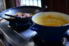 Thailändisches Lebensmittel der Stechrochen Lizenzfreie Stockfotografie