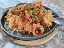 Thailändisches Lebensmittel empfohlen Lizenzfreie Stockfotografie