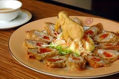 Thailändisches Lebensmittelfleischklöschen Stockfotos