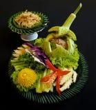 Thailändisches Lebensmittelsalat saengwa Lizenzfreie Stockfotografie