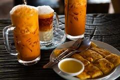 Thailändisches lokales Lebensmittel stockbilder