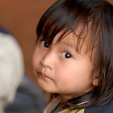 Thailändisches Mädchen Lizenzfreies Stockbild