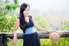 Thailändisches Mädchen Lizenzfreies Stockfoto