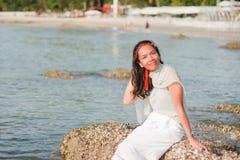 Thailändisches Mädchen-Porträt Stockfotos