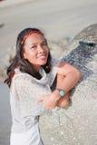 Thailändisches Mädchen-Porträt Lizenzfreie Stockbilder