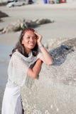 Thailändisches Mädchen-Porträt Stockfotografie