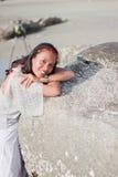Thailändisches Mädchen-Porträt Lizenzfreie Stockfotos