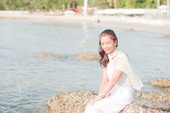 Thailändisches Mädchen-Porträt Lizenzfreie Stockfotografie