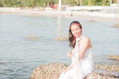 Thailändisches Mädchen-Porträt Stockfoto
