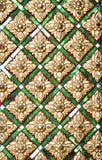Thailändisches Muster Stockfotografie
