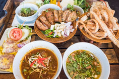 Thailändisches Nordlebensmittel Lizenzfreies Stockbild