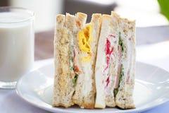 Thailändisches Sandwich Stockfoto