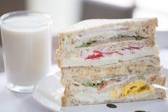 Thailändisches Sandwich Lizenzfreies Stockfoto