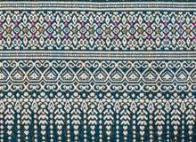 Thailändisches Sarongmuster Stockbilder